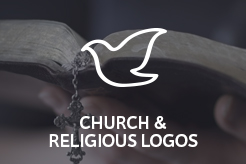 LogoMood Church & Religious Logos for sale