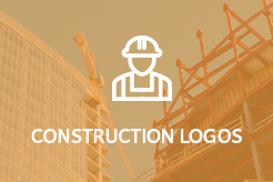 LogoMood Construction Logos for sale