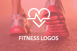 LogoMood Fitness Logos for sale