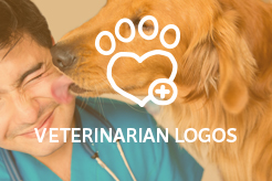 LogoMood Veterinarian Logos for sale