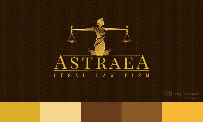 Astraea Legal Law Firm Logo Design For Sale