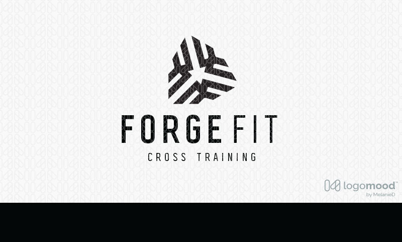 Forge Fitness Logo Design For Sale