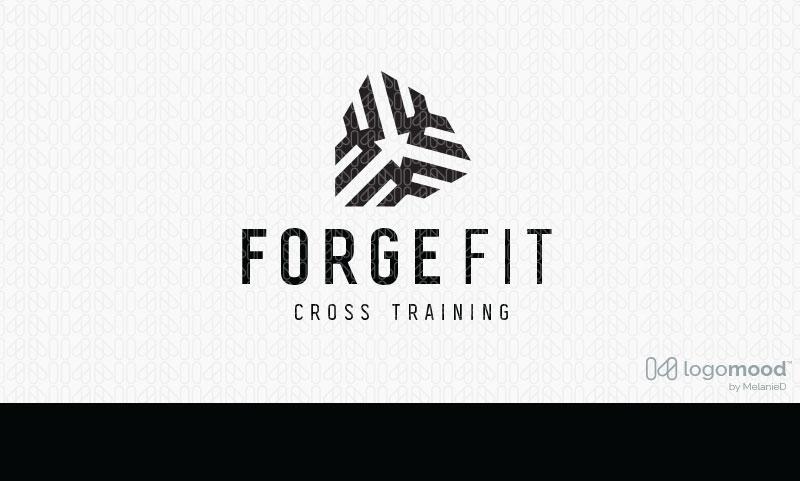 Forge Fitness Logo Design For Sale