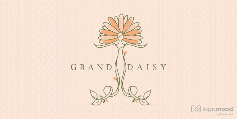 Grand Daisy Beauty Woman Logos For Sale