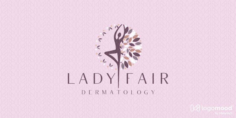 Lady Fair Dermatology Beauty Logos For Sale