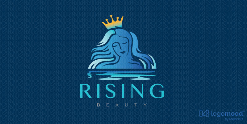 Rising Water Beauty Logos For Sale