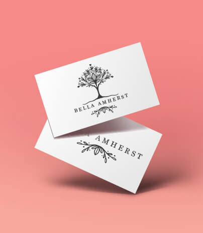 Ready-Made Logos for Sale Floral Leaf Modern Tree Logo