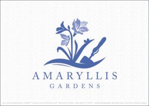 Amaryllis Garden Logo For Sale