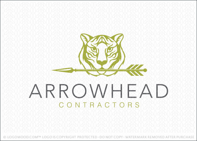 Arrowhead Contractors Logo For Sale