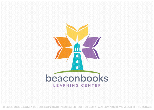 Beacon Lighthouse Books Logo For Sale