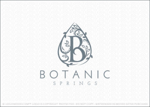 Botanics Spring Logo For Sale