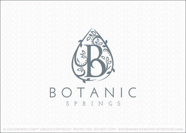 Botanics Spring Logo For Sale