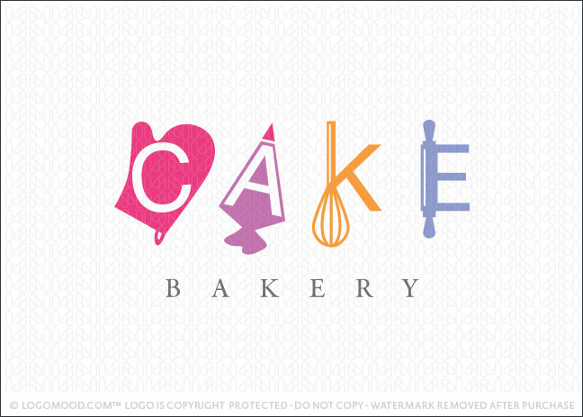 Cakes Bakery Logo For Sale