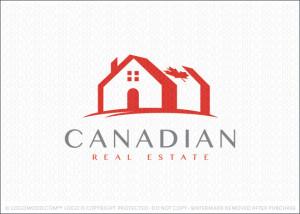 Canadian Real Estate Logo For Sale