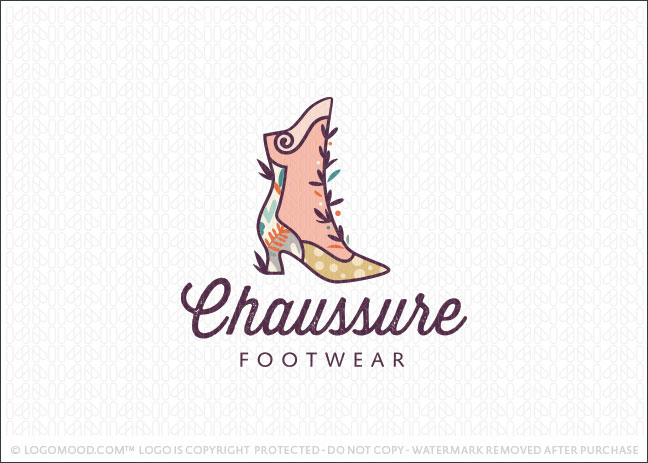 Chaussure Footwear Logo For Sale