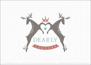 Dearly Couture Love Logo For Sale