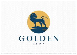 Golden Lion Logo For Sale