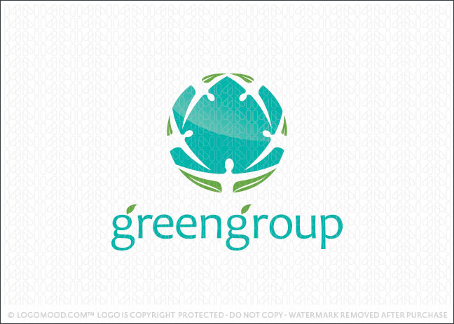 Green Group Logo For Sale