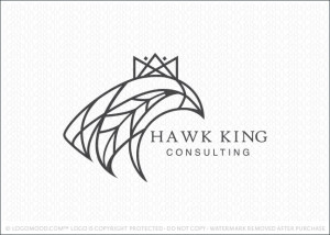 Hawk King Logo For Sale