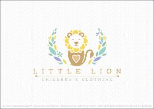 Little Lion Children Clothing Logo For Sale