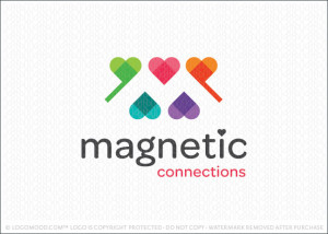 Magnetic Connections Logo For Sale