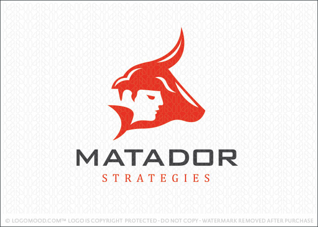 Matador Strategies Logo For Sale