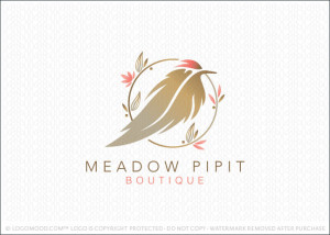Meadow Pipit Boutique Logo For Sale