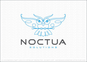 Noctua Owl Logo For Sale