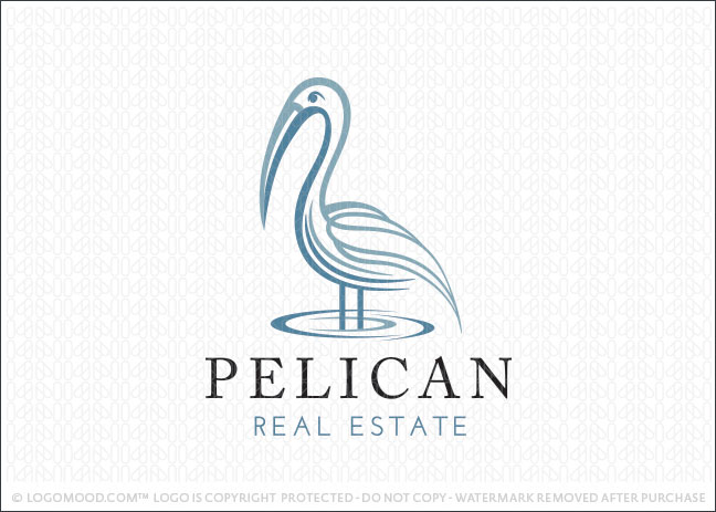 Pelican Real Estate Logo For Sale