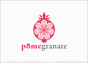 Pomegranate Logo For Sale