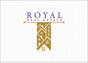 Royal Real Estate Logo For Sale