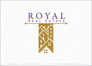 Royal Real Estate Logo For Sale