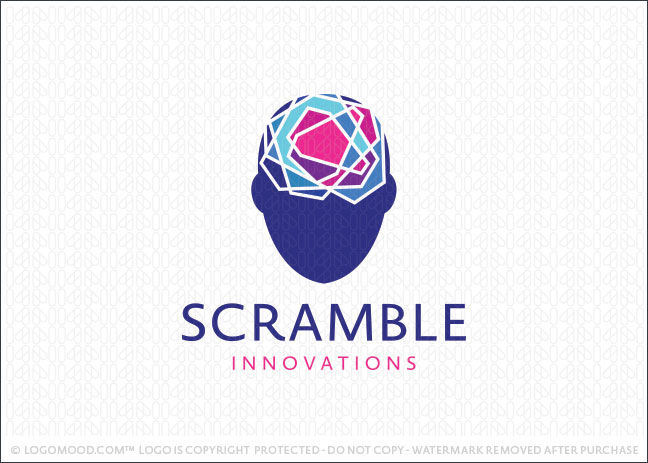 Scramble Mind Logo For Sale