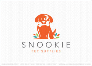 Snookie Pet Supplies Logo For Sale