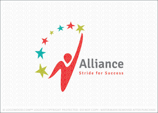 Alliance Person Logo For Sale