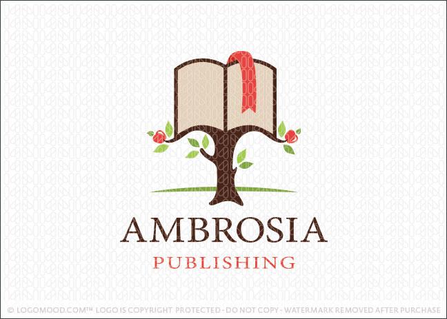 Ambrosia Publishing Book Logo For Sale
