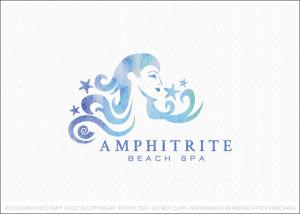 Amphitrite Goddess Logo For Sale