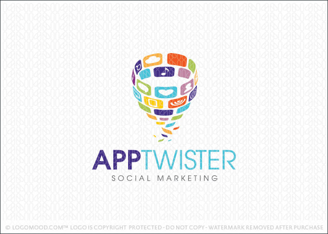 App Twister Logo For Sale