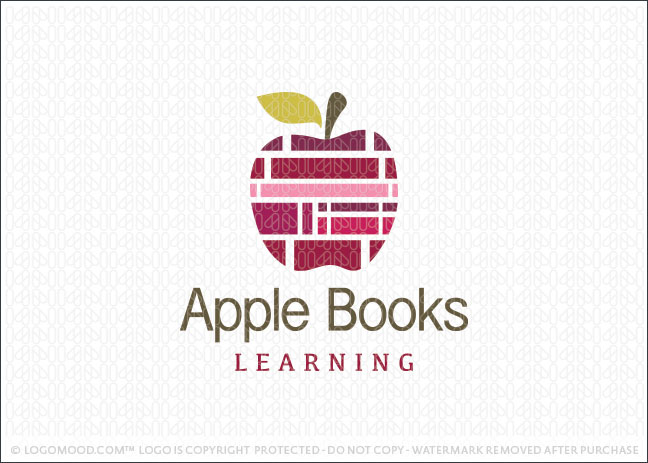 Apple Books Learning Logo For Sale