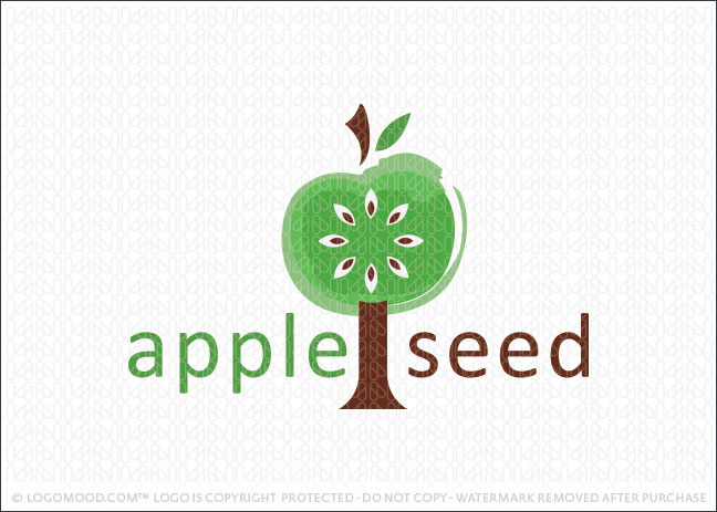 Apple Tree Logo For Sale