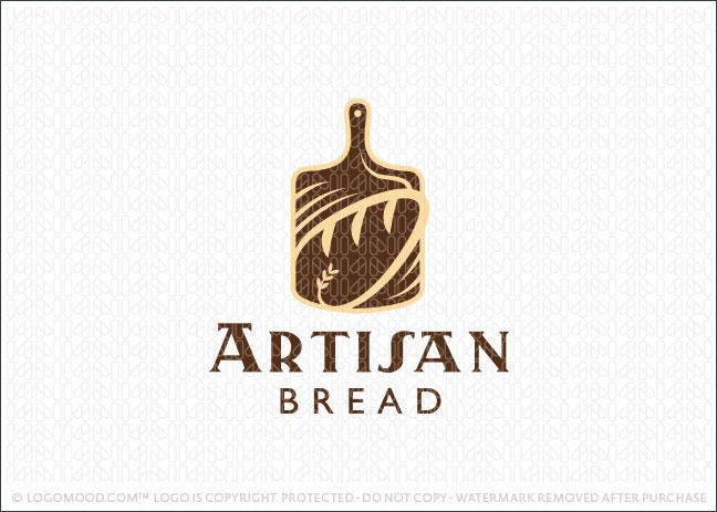 Artisan Bread Logo For Sale