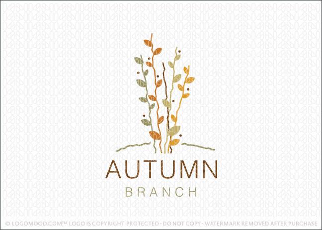 Autumn Branch Logo For Sale
