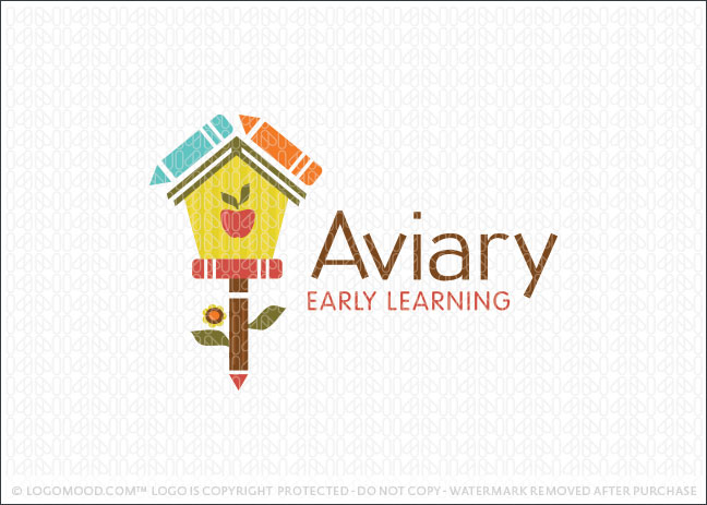 Aviary Early Learning Logo For Sale