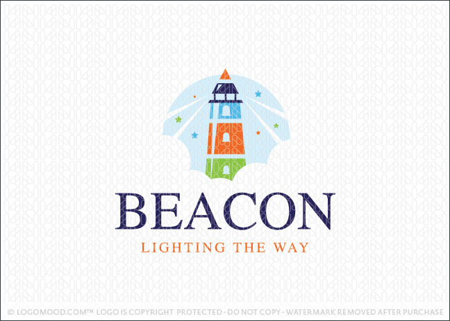 Beacon Lighthouse Learning Logo For Sale