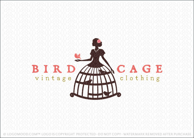 readymade logos for sale bird cage vintage clothing