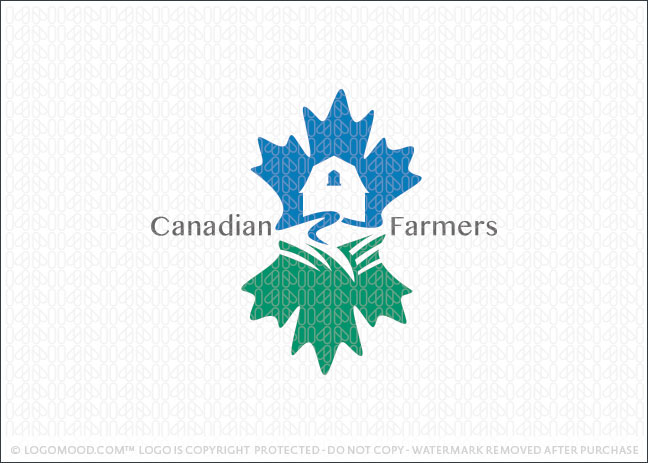 Canadian Farmers Logo For Sale