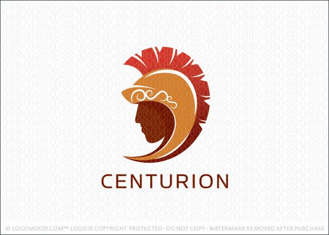 Centurion Roman Soldier Helmet Logo For Sale