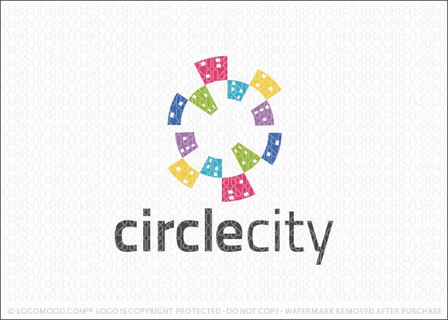 City Cityscape Logo For Sale