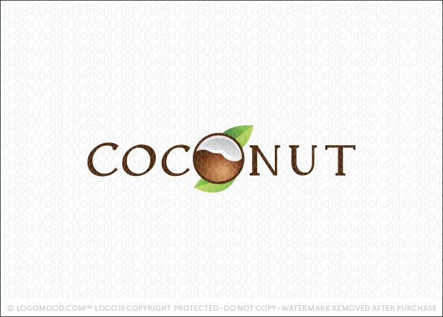 Coconut Logo For sale
