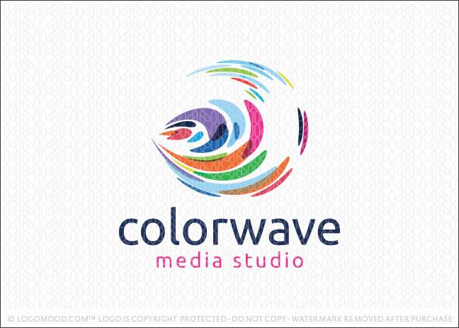 Color Wave Logo For Sale